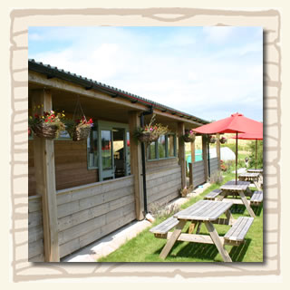 Outhside view of the Cafe at the South Devon Chilli Farm