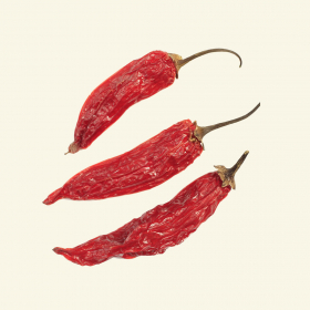 Dried Aji Red chillies
