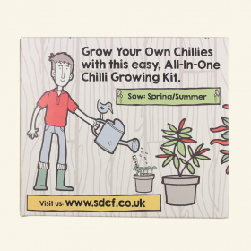 Chilli Growing Kit - Back view