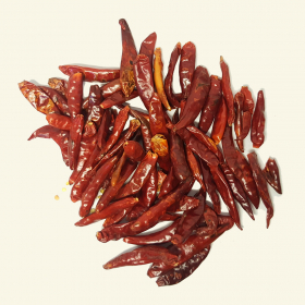 Dried Bullet chillies