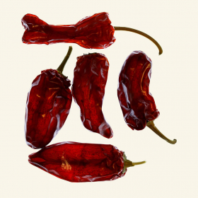 Dried Padron chillies
