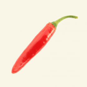Serrano chillies - ripe (red)