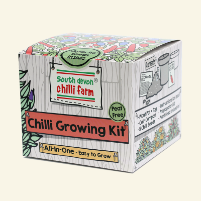 "Chilli growing kit - ""One-Pot"""