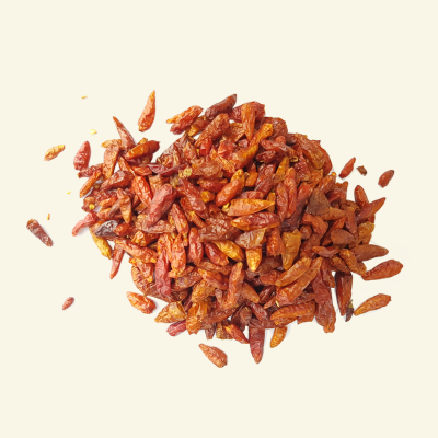 Dried Birds Eye chillies