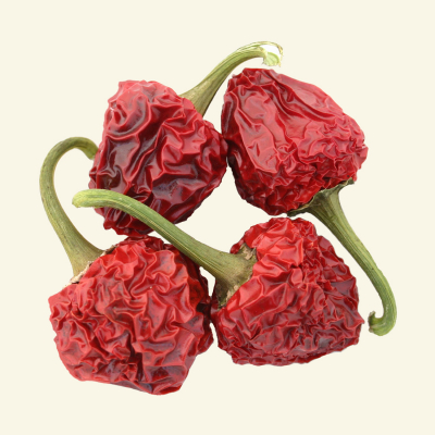 Dried Cherry Bomb chillies
