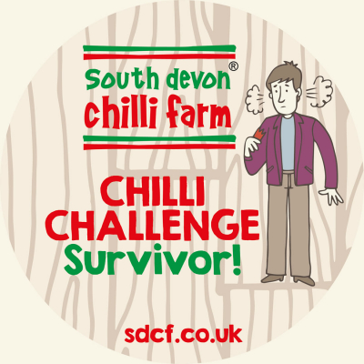 Chilli Challenge Sticker