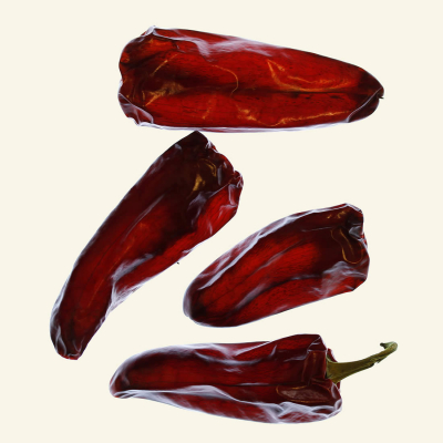 Dried Devon Paprika chillies