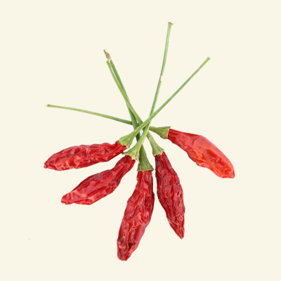 Dried Piri Piri chillies, UK